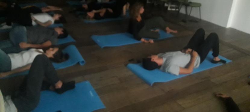 Pitada de consciência corporal para estimular conexões no FIS18