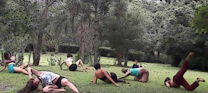 Traduções entre corpo e natureza no retiro de verão2020